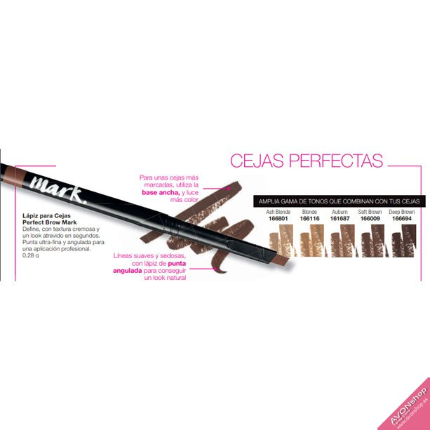 Lápiz para Cejas Perfect Brow Mark