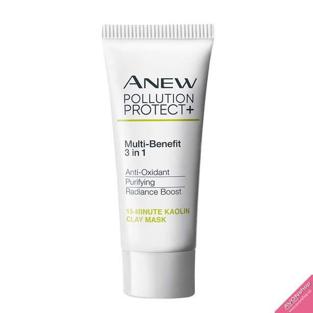 Mascarilla DETOX 15 minutos ANEW POLLUTION PROTECT +