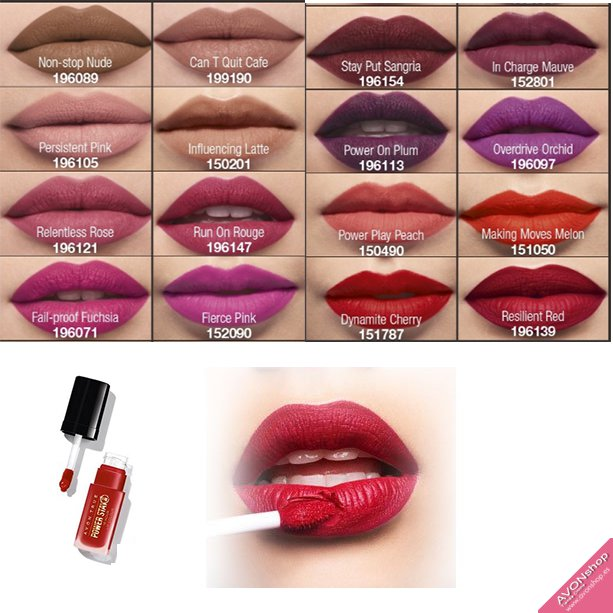 Color Labial Avon True Powerstay