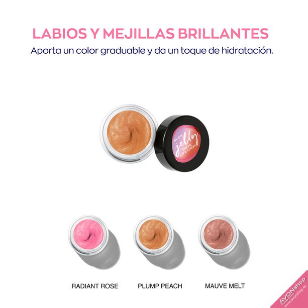 Jelly Color para labios y mejillas