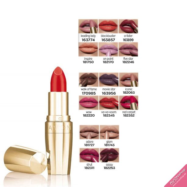 LEGEND BARRA DE LABIOS AVON TRUE CREME